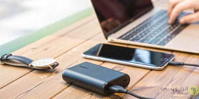 راهنمای کامل انتخاب پاور بانک مناسب برای گوشی و لپ تاپ