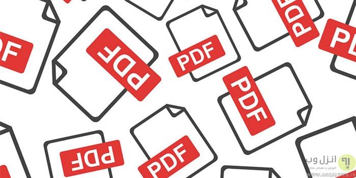 5 راه برای استخراج فونت فارسی و انگلیسی از فایل PDF