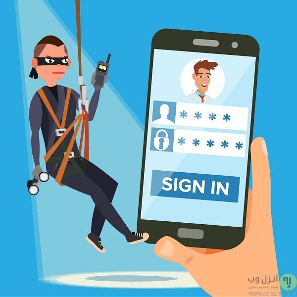 از پسورد اول و دوم بانکی خود محافظت کنید