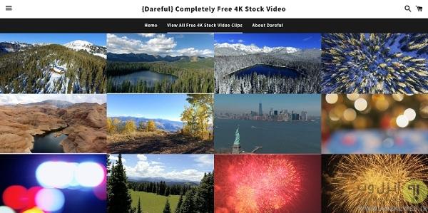 دانلود کلیپ 4k رایگان از Dareful