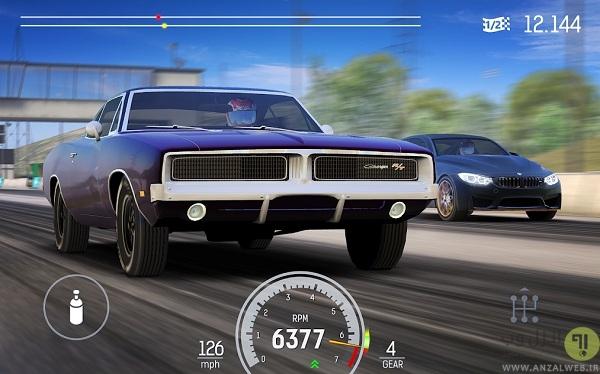 بازی ماشین اندروید آنلاین Nitro Nation Racing