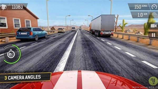 بازی ماشین اندروید Racing Fever یک بازی سبک با گرافیک بالا
