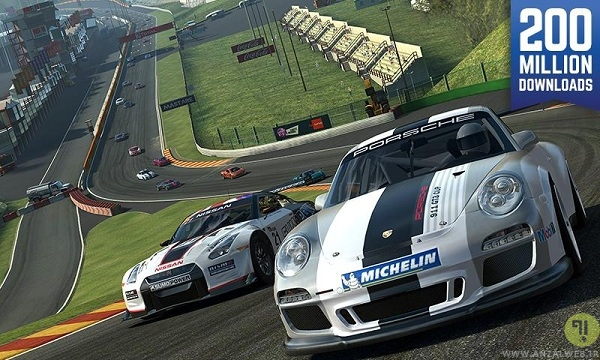 Real Racing 3 - بازی ماشین اندروید با کیفیت