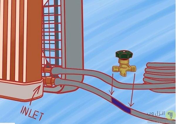 نحوه ساخت کولر آبی با رادیاتور