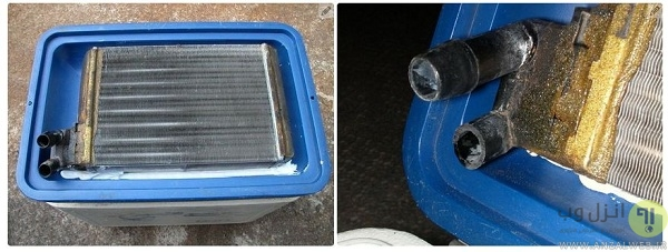 ساخت کولر آبی برای ماشین