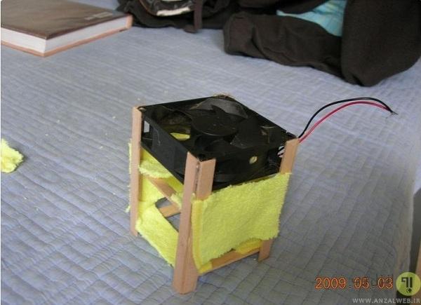 نحوه ساخت کولر همراه