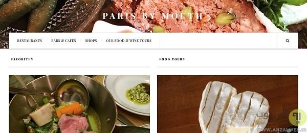 پیدا کردن بهترین رستوران ها در پاریس