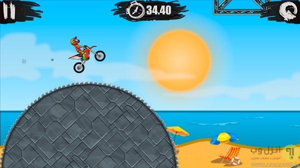 بازی مسابقه موتور سواری Moto X3M
