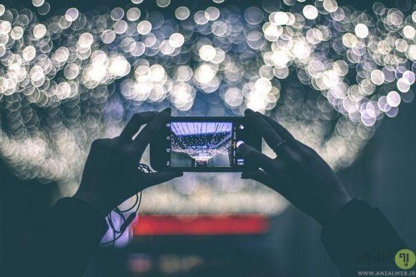 تکان خوردن گوشی در هنگام عکس گرفتن