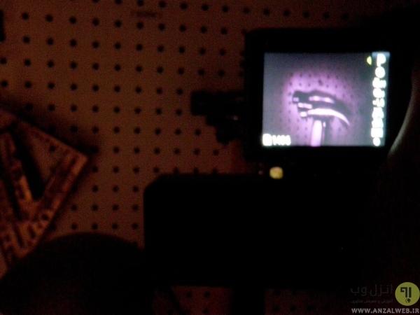 ساخت دوربین دید در شب با دوربین دیجیتال در خانه