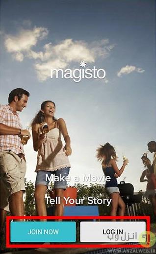 درست کردن فیلم در اندروید با Magisto Video Editor & Maker