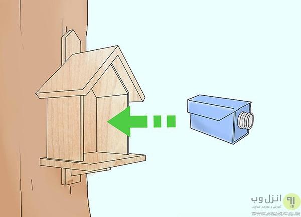 آموزش 10 روش نصب و مخفی کردن دوربین مداربسته در فضای آزاد