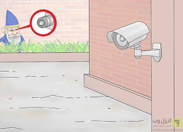 استفاده از دوربین های مداربسته جعلی