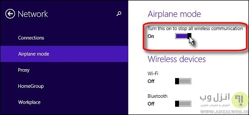 علت از بین رفتن آیکن Wi-Fi و نحوه حل آن