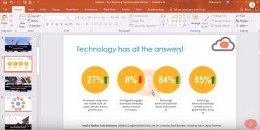 PowerPoint آموزش نحوه گذاشتن واترمارک در پاورپوینت