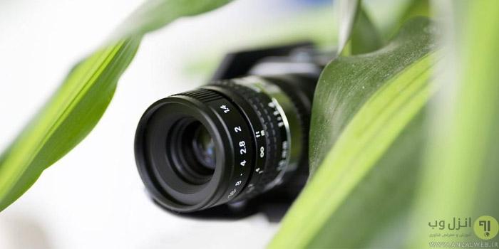 نصب و مخفی کردن دوربین مداربسته در فضای آزاد