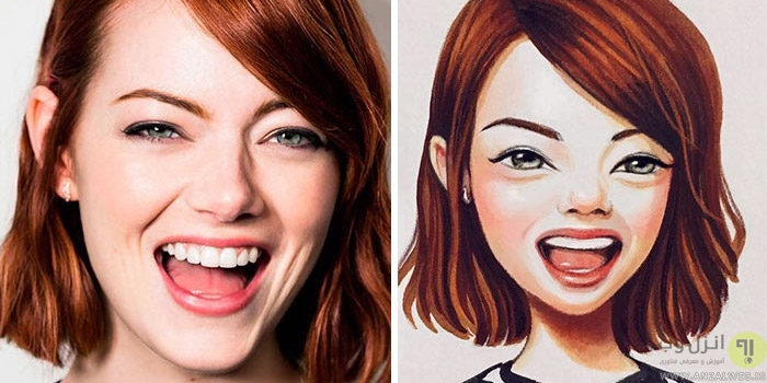 تبدیل عکس به کارتون به صورت آنلاین و بدون نیاز به فتوشاپ