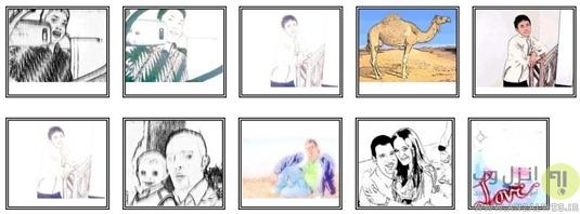 ابزار افکت کارتونی عکس Kuso Cartoon