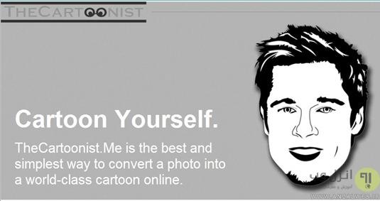 تبدیل عکس به کارتون با اسفاده از Thecartoonist
