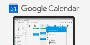 تقویم گوگل Google Calendar کامپیوتر