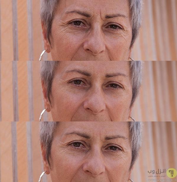 نحوه روتوش چهره در فتوشاپ