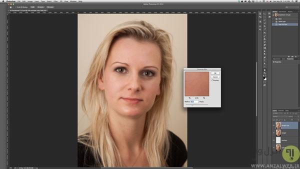 آموزش روتوش عکس در فتوشاپ cs6