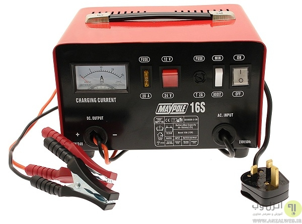 شارژر باتری خریداری کنید