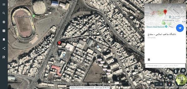 مشاهده نقشه و مکان جهان با دسترسی به گوگل ارث