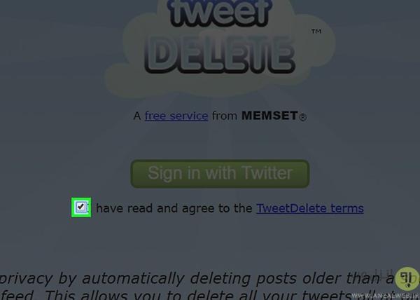 حذف کردن همه توییت ها با TweetDelete