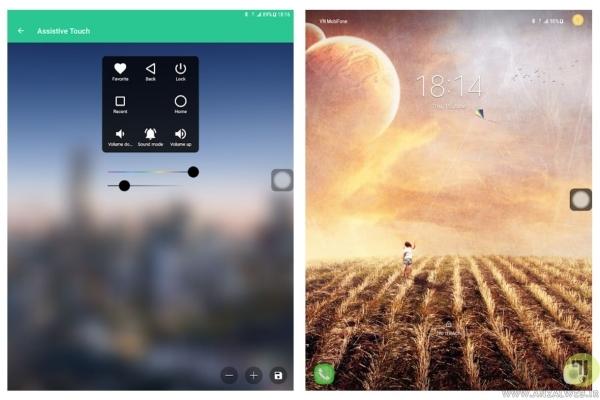 دانلود دکمه شناور اندروید Assistive Touch برای افزودن دکمه شناور هوم