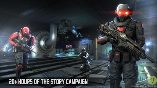 بازی تفنگی Dead Effect 2 برای اندروید