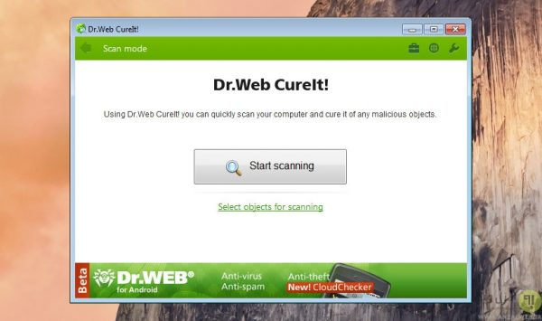 انتی ویروس پرتابل Dr.Web CureIt!