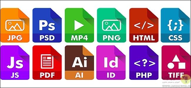 به طور کلی پسوند <font color='#ff0000'>فایل</font> <font color='#ff0000'>چیست</font>؟