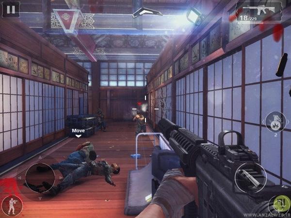 دانلود بازی Modern Combat 5 برای اندروید