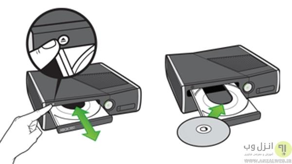 ثبت تنظیمات کنسول 360 XBox