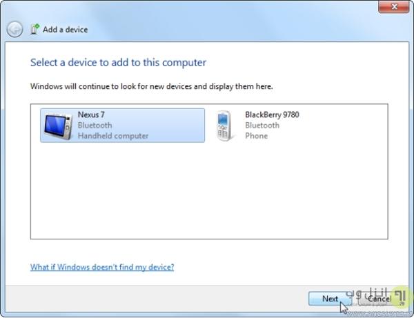 اتصال هدفون بلوتوث به ویندوز 7