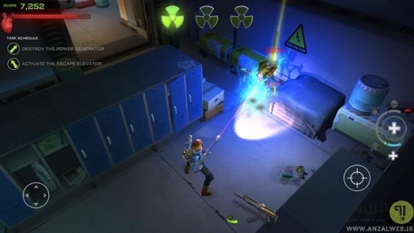 بازی تفنگی اندروید: Xenowerk