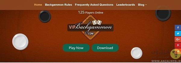 بازی آنلاین تخته نرد با دیگران
