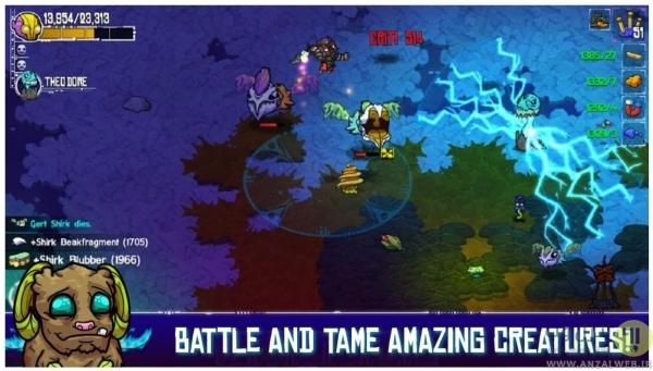 بازی آفلاین Crashlands برای اندروید