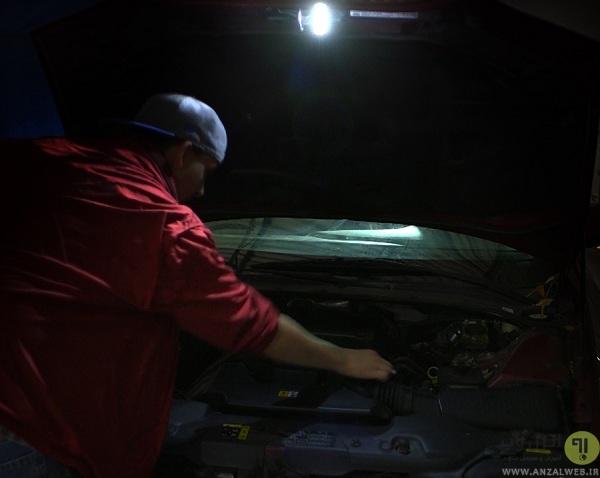 با چراغ قوه جعبه ابزار خودرو خود را کامل کنید