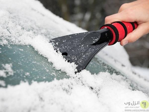 ابزار یخ شکن شیشه اتومبیل