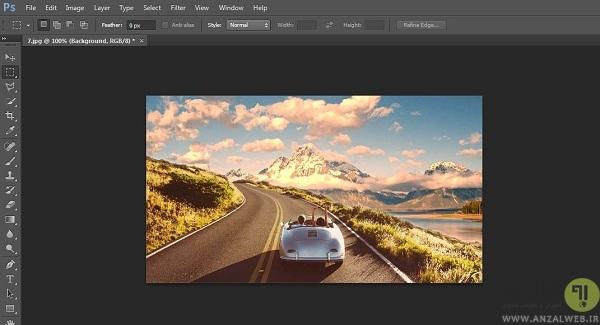 آموزش میکس تصاویر در فتوشاپ
