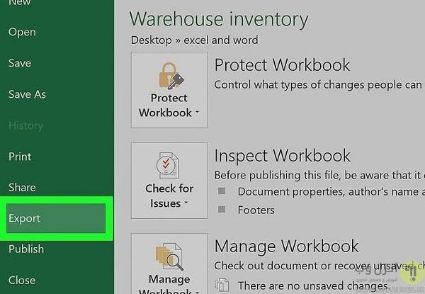 چگونه یک فایل اکسل را به PDF تبدیل کنیم؟