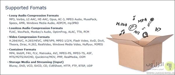 دانلود نرم افزار تبدیل فرمت فیلم کامپیوتر Media Encoder HQ
