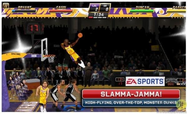 دانلود بازی آفلاین NBA Jam برای اندروید