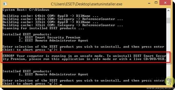 خطای Error 1603 در زمان نصب آنتی ویروس