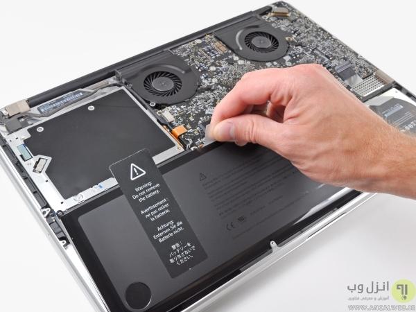 بررسی داده های باتری