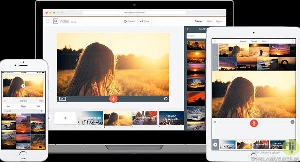 معرفی سایت Adobe Spark برای ساخت تصاویر کوچک یوتیوب