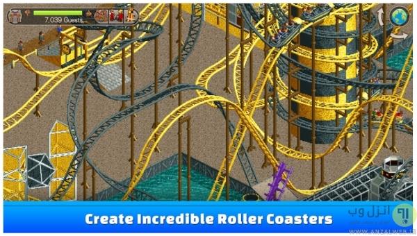 بازی Rollercoaster Tycoon Classic برای اندروید