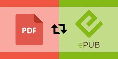 آموزش تبدیل PDF به ePUB در کامپیوتر ، گوشی و آنلاین